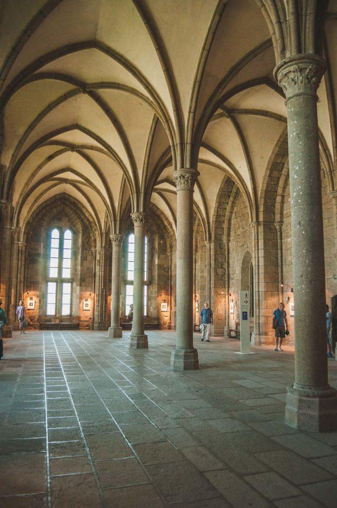 ontvangstzaal Le Mont Saint-Michel
