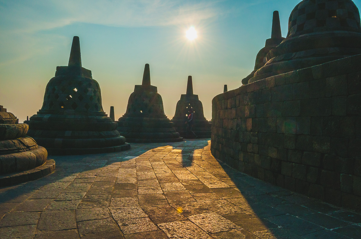 stupas borubudur