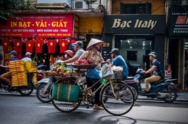 Hanoi Straatleven