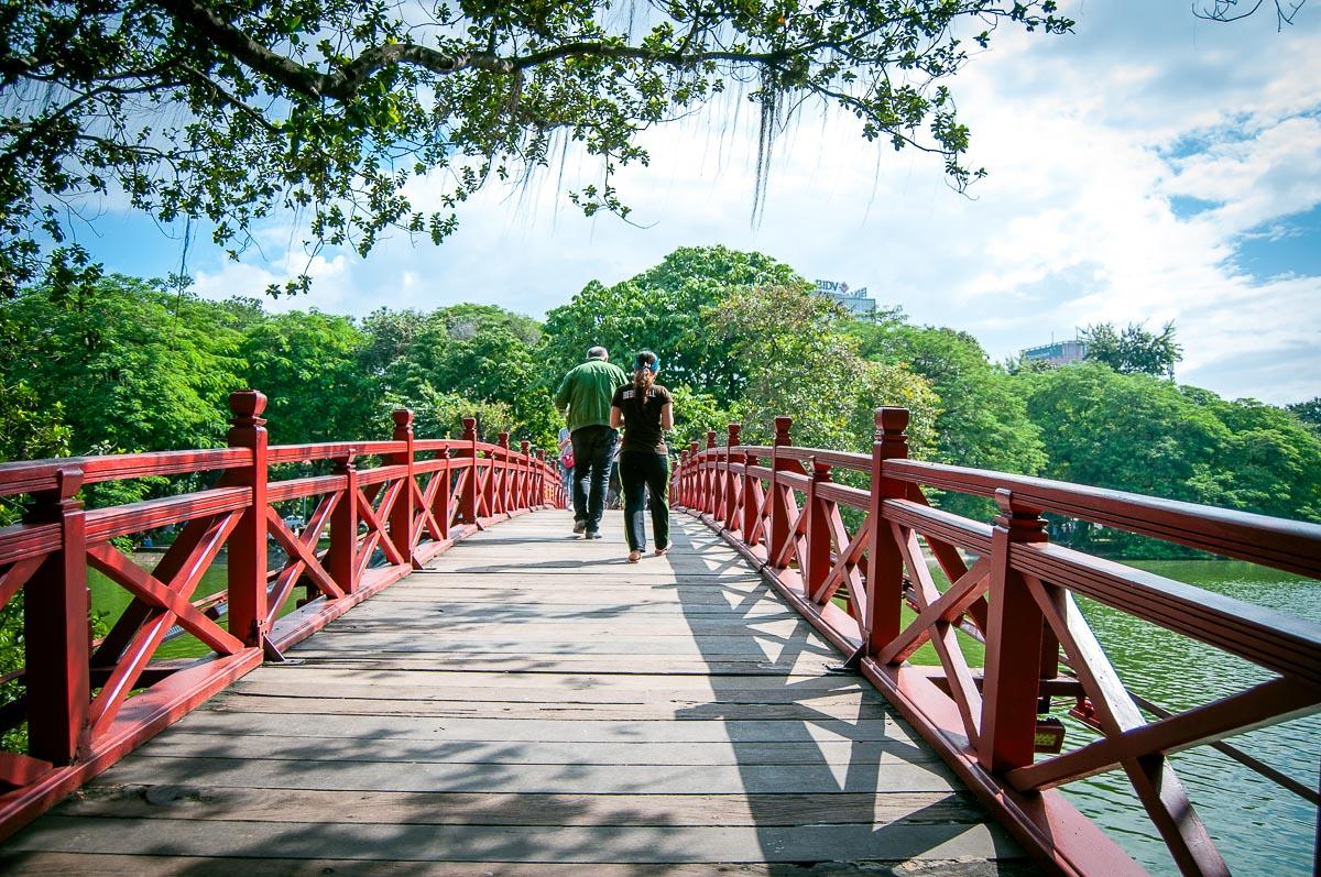 Huc brug Hanoi