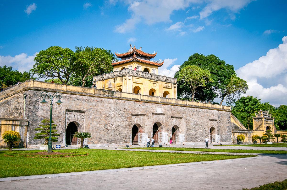 De Imperial Citadel in Hanoi