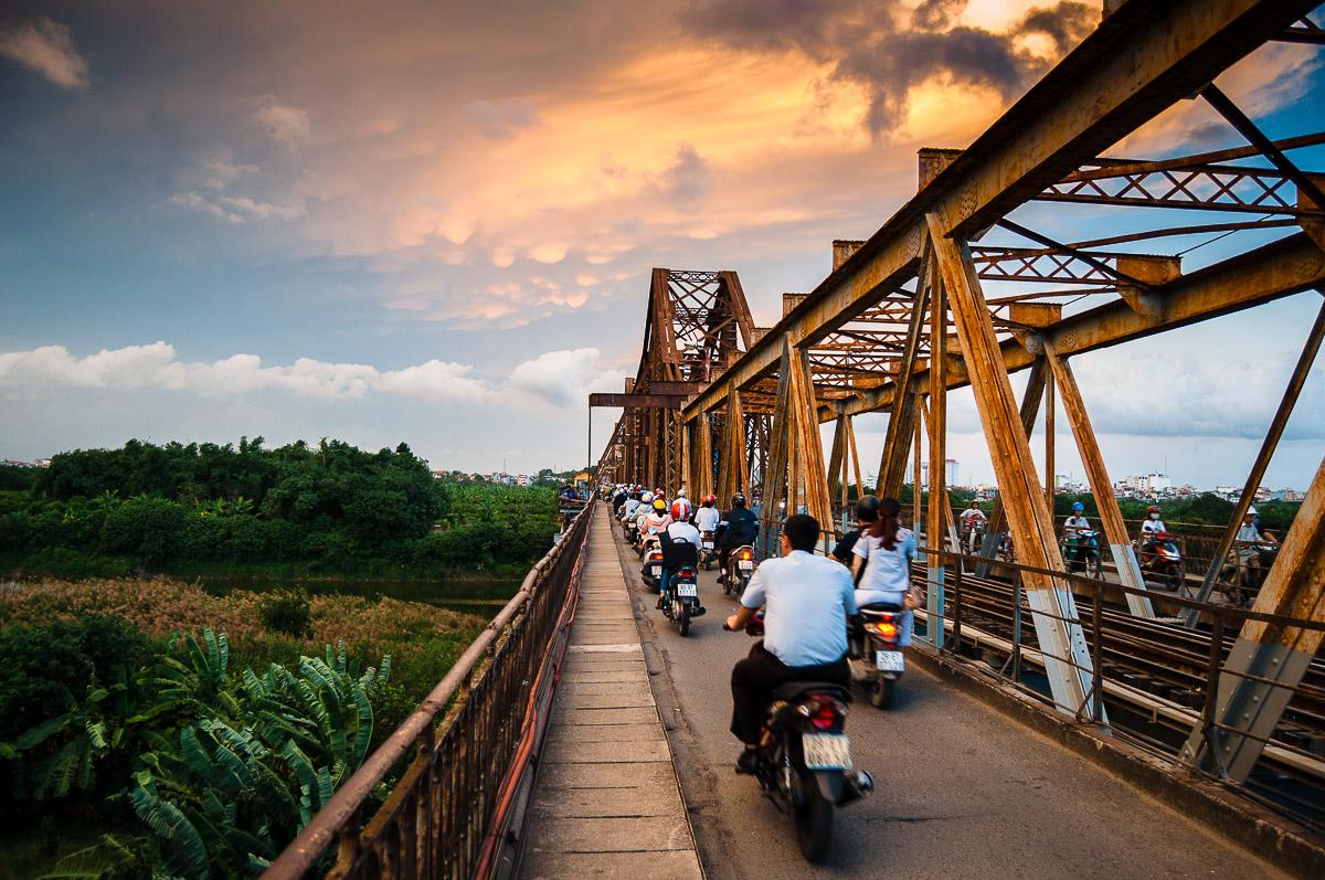Long Bien Brug Vietnam