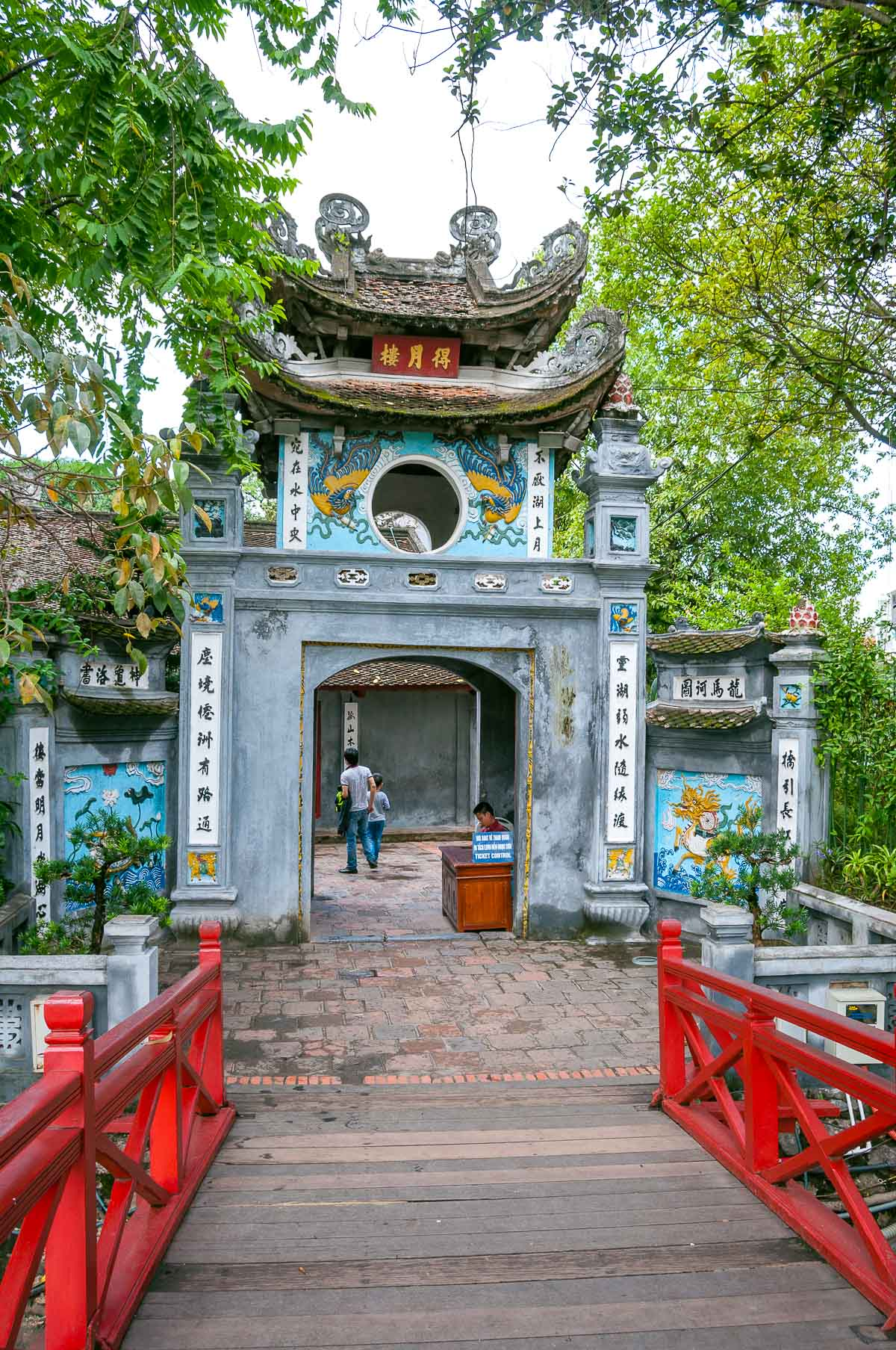 De Ngoc Son tempel in Hanoi