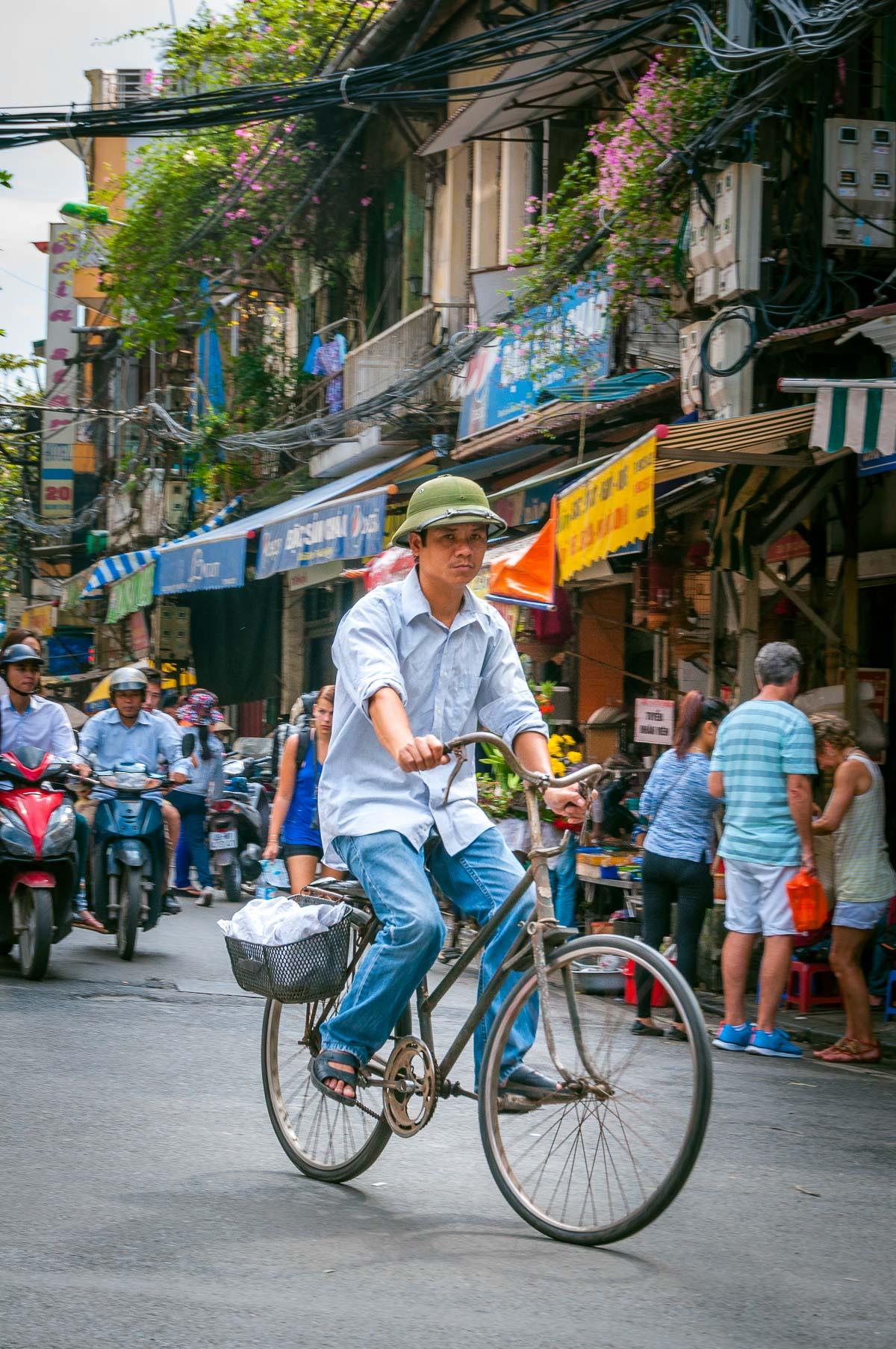 Fietser Hanoi