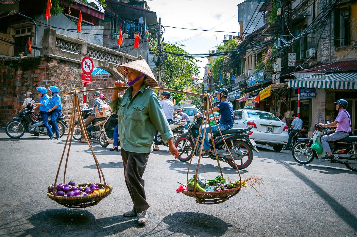 Hanoi verkoper