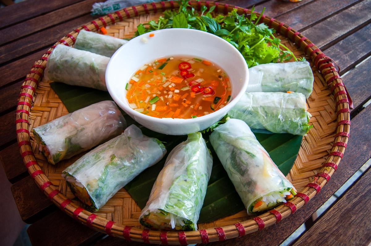 Spring rolls Hanoi