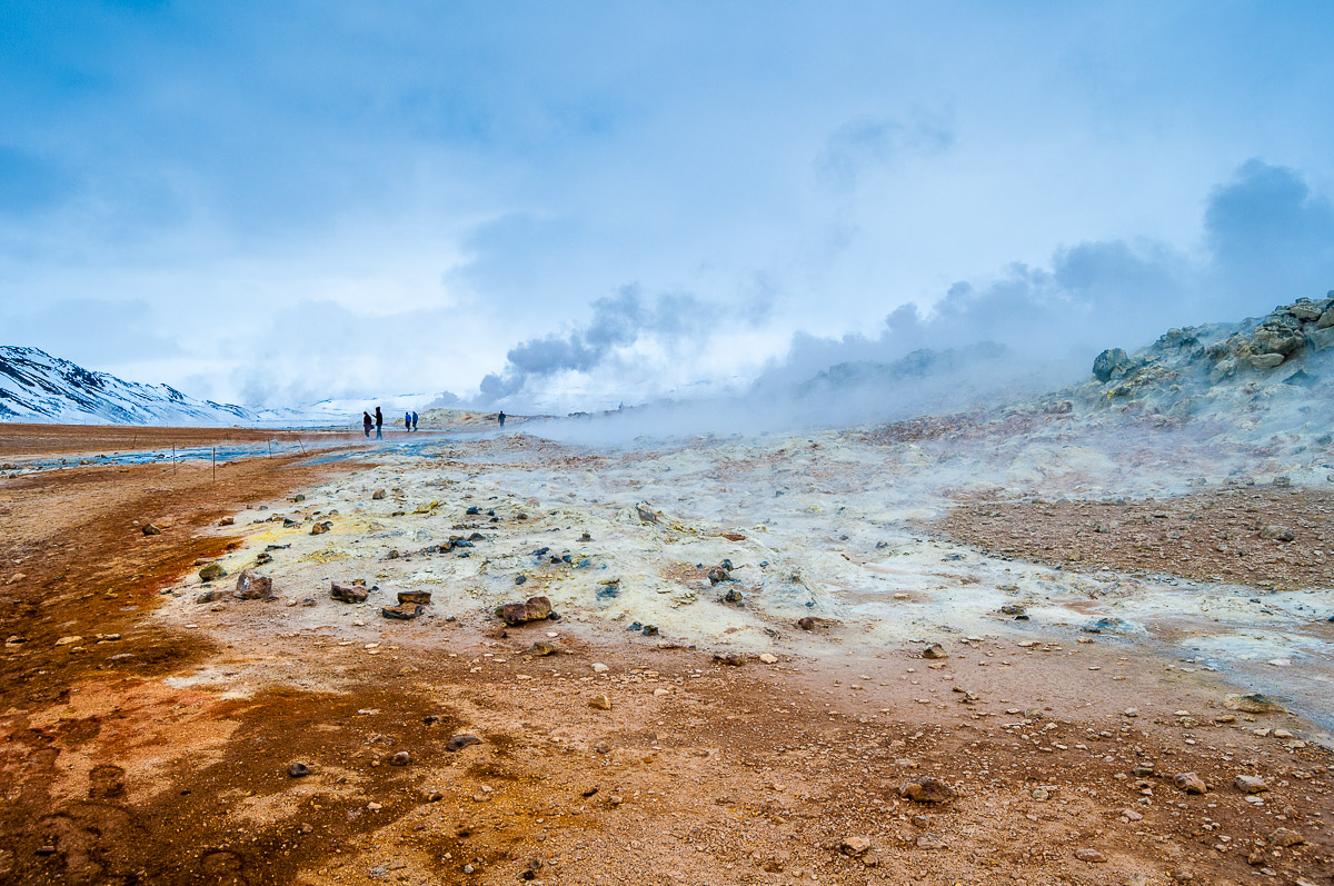 Myvatn: Rotte eitjes, lava en de Blue lagoon van het noorden