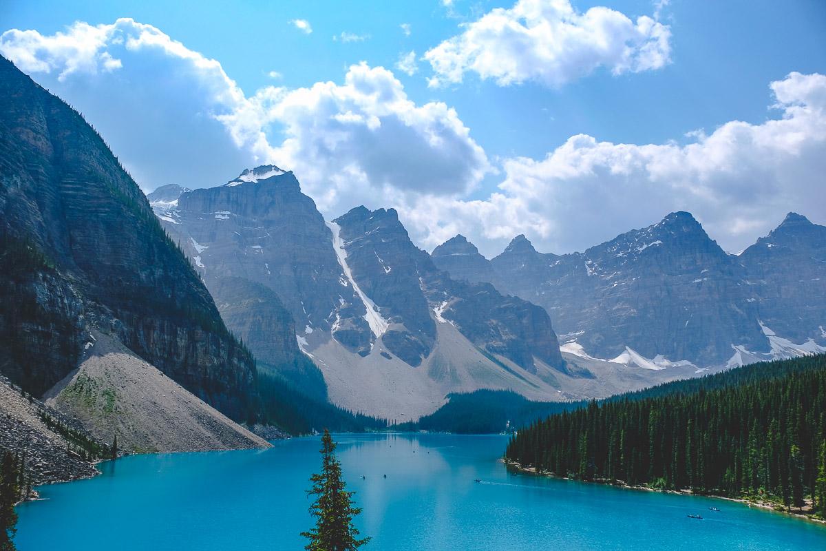 Lake Louise & Lake Moraine: de populairste meren van Canada