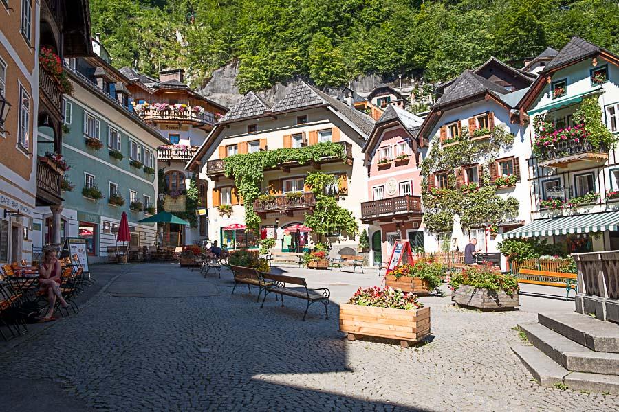 hallstatt dorp