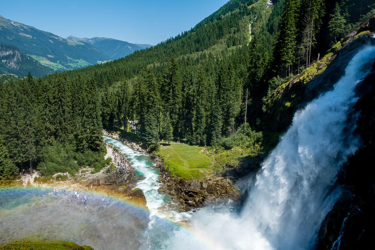 De Krimmler Wasserfalle: De grootste waterval van Oostenrijk