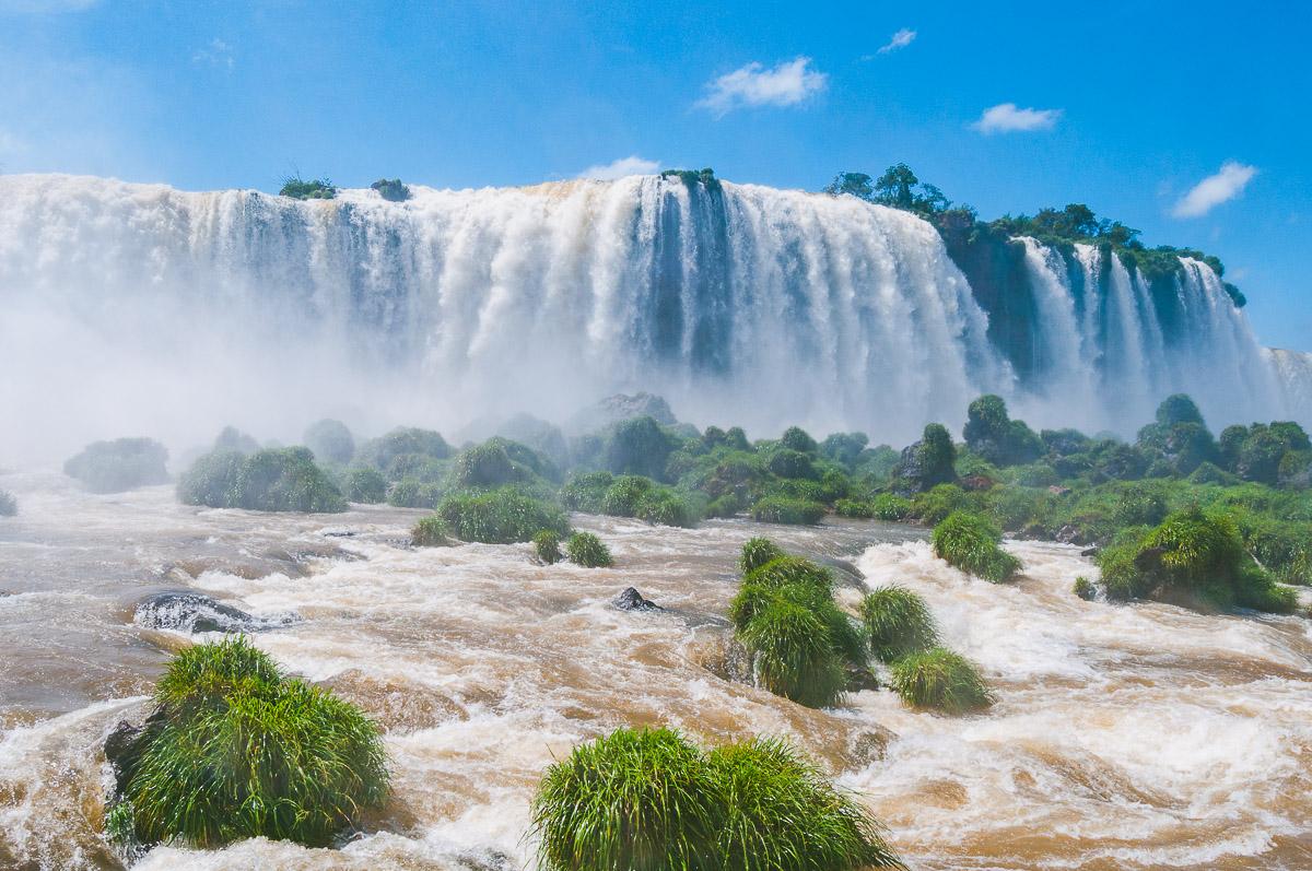 De watervallen van Iguazú: Brazilië vs Argentinië